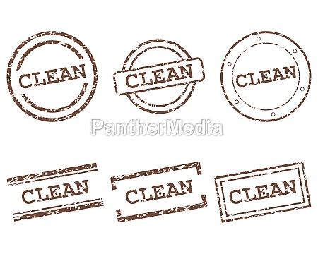 saubere briefmarken