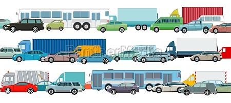 rush, hour, , cars, in, traffic, jam, - 29583082