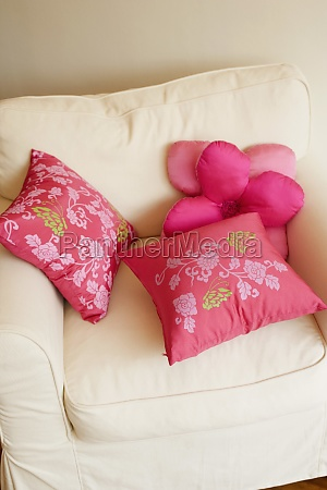 high, angle, view, of, cushions, on - 29604217
