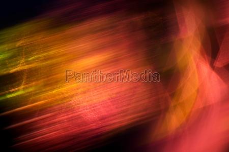 abstrakte rote und orange lichter