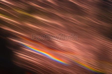 abstrakte verschwommene orange lichter