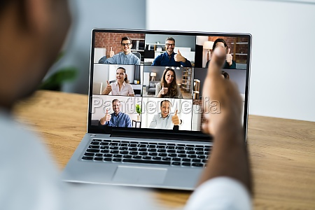 online video konferenz work webinar