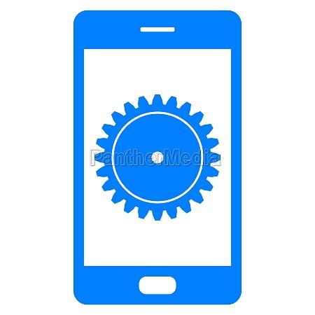 ausruestung und smartphone
