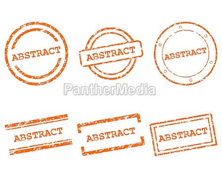 abstrakte, briefmarken - 29610534