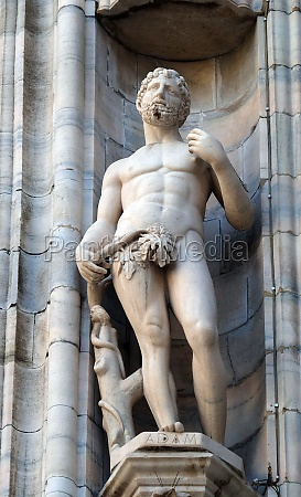 adam statue am mailaender dom dom