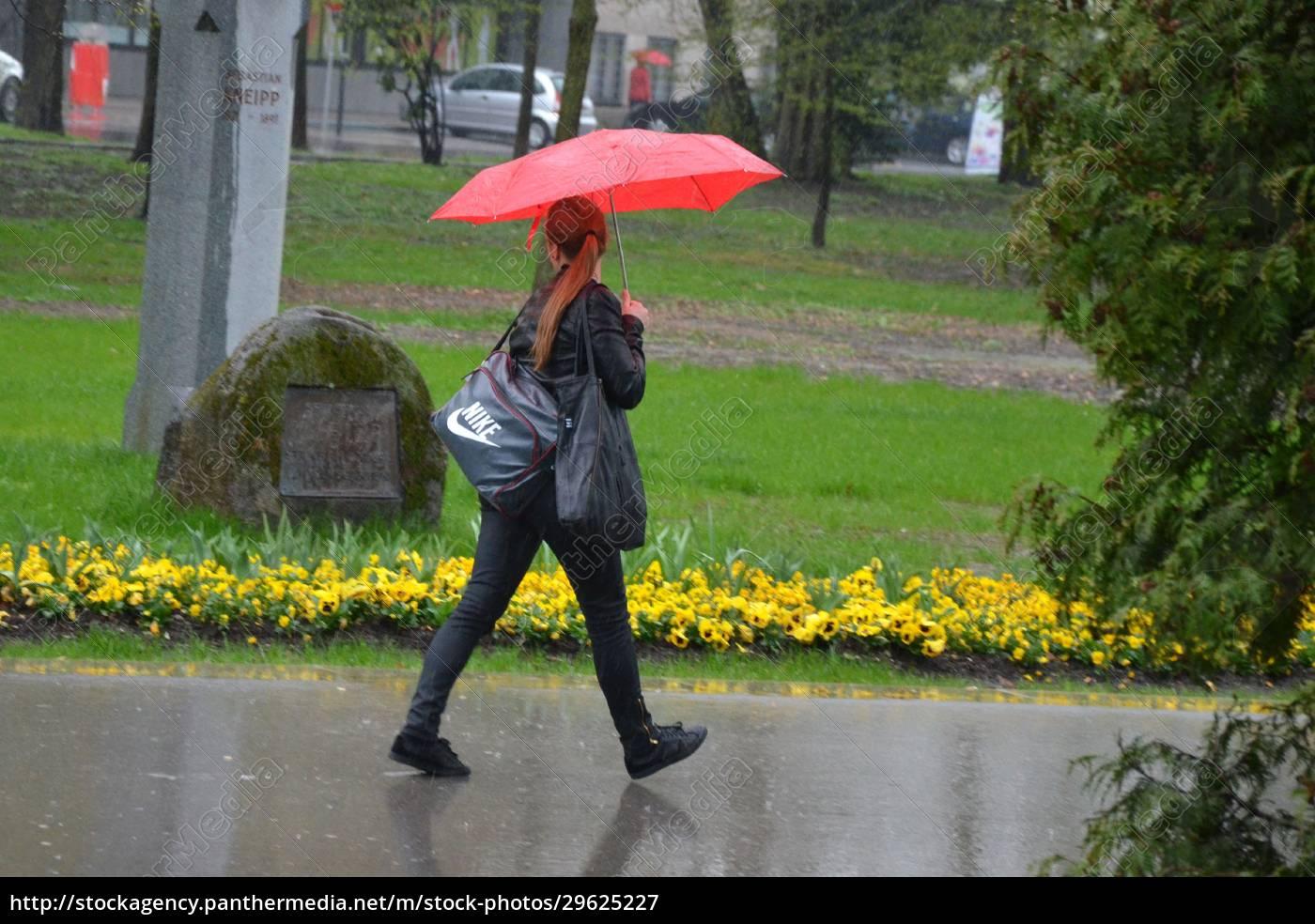 regenwetter, in, der, stadt, (linz, oberösterreich, Österreich), - - 29625227