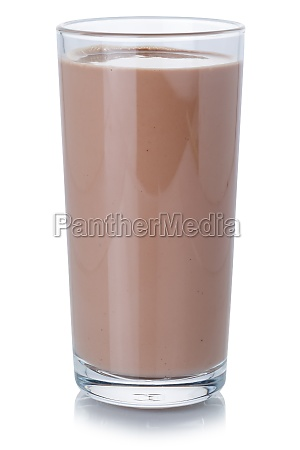 chocolate, milk, shake, milkshake, in, a - 29626901