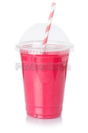 fruchtsaft, erdbeere, smoothie, stroh, getränk, getränk - 29626846