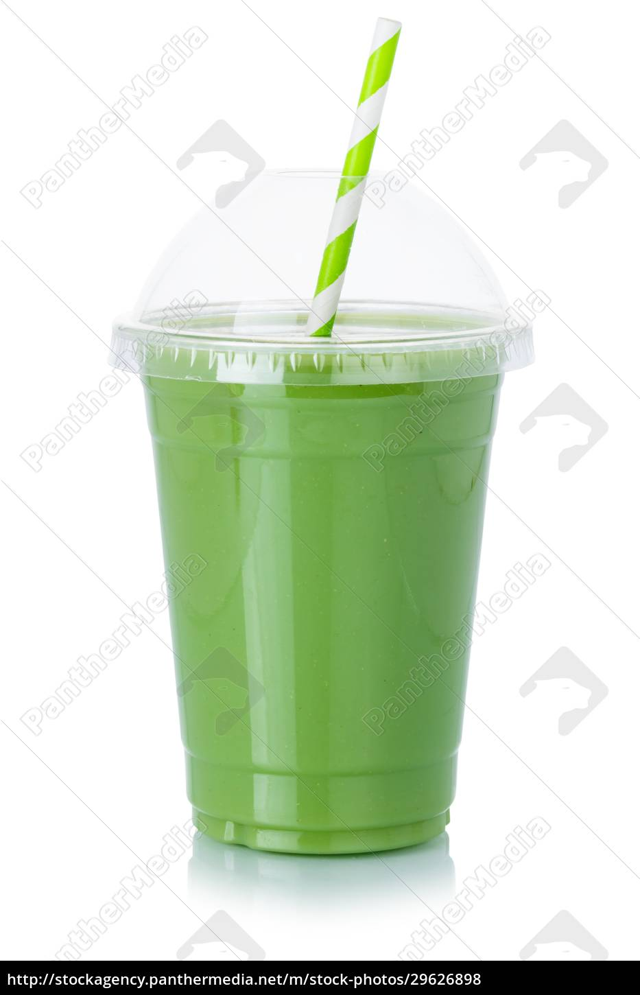 fruit, juice, green, smoothie, straw, drink - 29626898