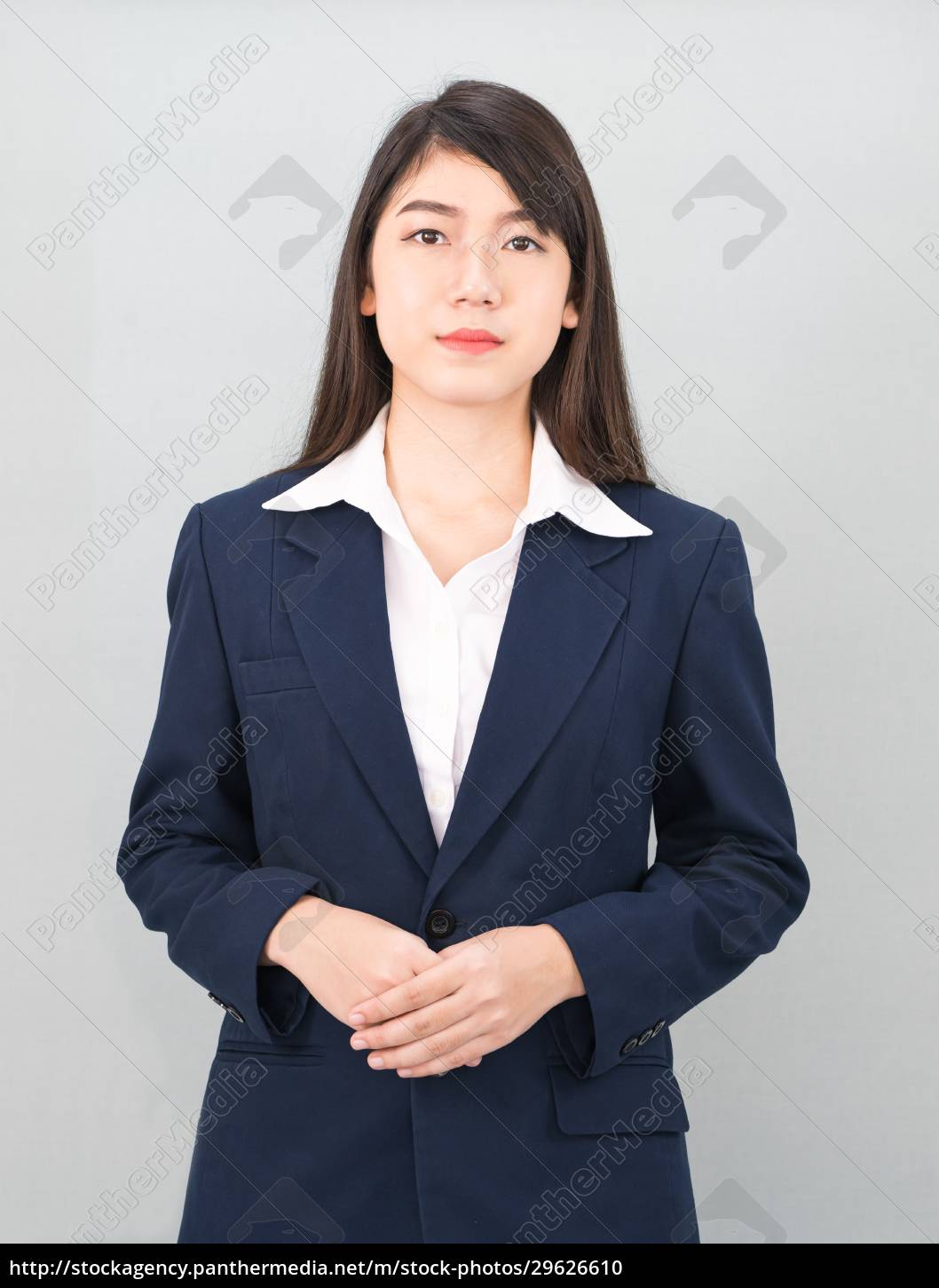 portrait, of, asian, business, woman, standing - 29626610
