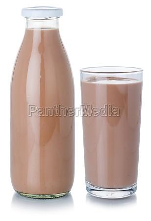 schokolade, milch, shake, milchshake, getränk, getränkeflasche - 29626858