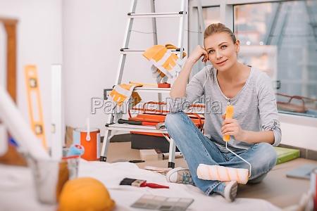 weiblich macht redecoration