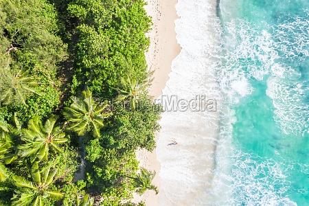 seychellen takamaka strand mahe mahe insel