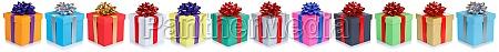 weihnachtsgeschenke geburtstagsgeschenke in einer reihe geschenk