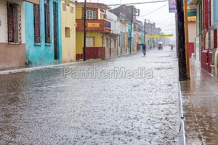 Überflutete, straße - 29630095