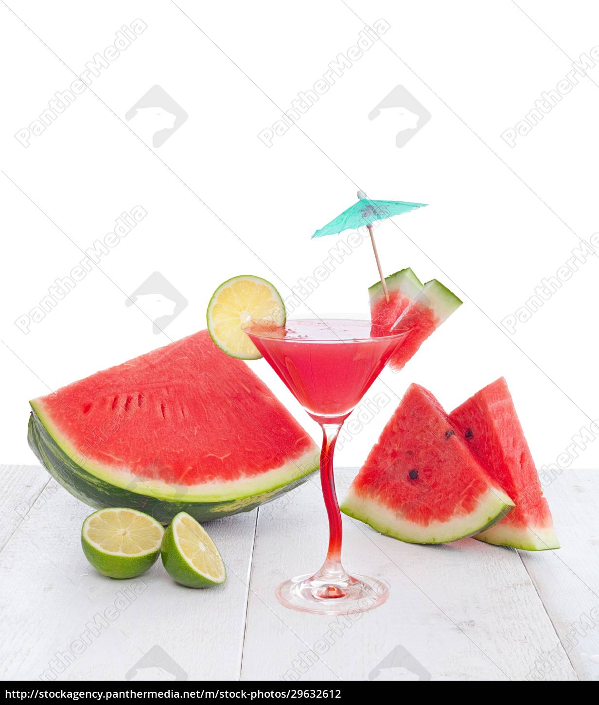 drink, of, watermelon, juice, with, lime - 29632612