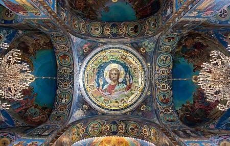 das innere der isaak kathedrale in