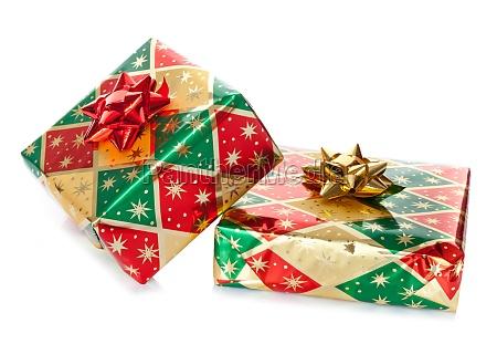 bunte geschenk boxen