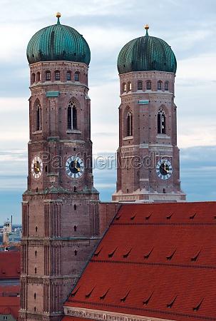 die frauenkirche in muenchen