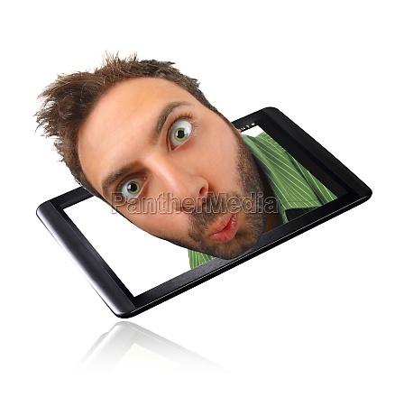 wow ausdruck mit tablette