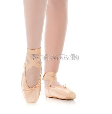 detail, der, füße, des, balletttänzers - 29644760