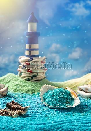aromatische sader salz spa zusammensetzung