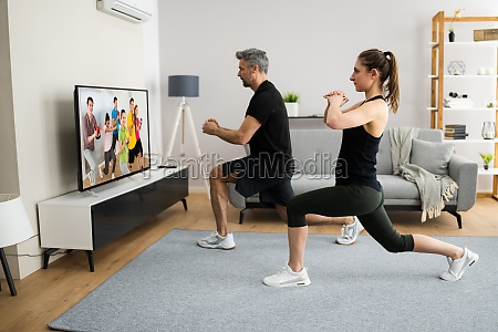 online tv home fitness workout