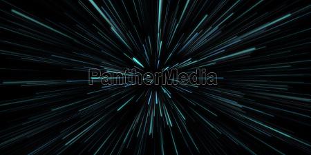 space travel blau