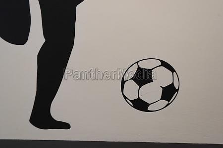 symbolbild fuer fussball oder fussball