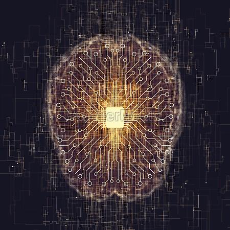 kuenstliche intelligenz gehirnverbindungen x ray