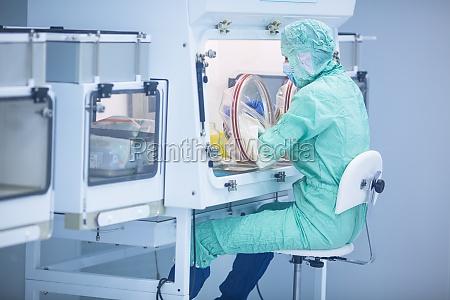pharmazeutische industrie fabrik und produktionslabor farbtonbild