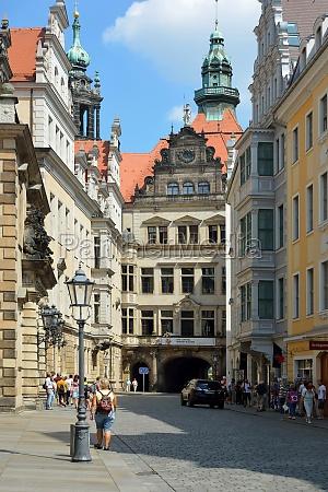 residenzschloss in dresden deutschland