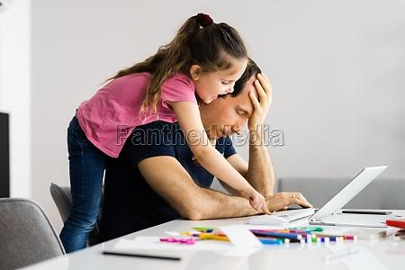 home office online arbeitsstress