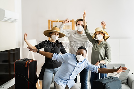gruppe von freunden menschen reisen in