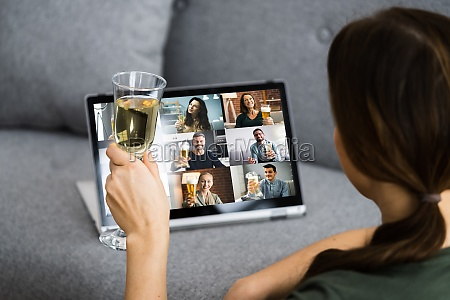 virtuelle champagner verkostung online