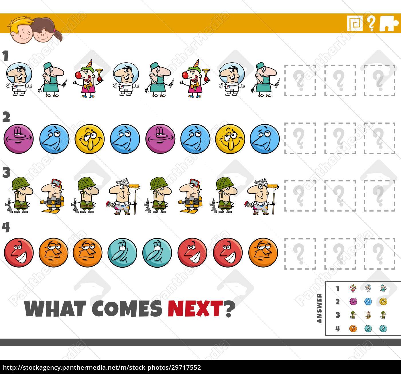 educational, pattern, game, for, children, with - 29717552