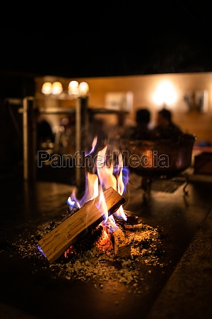 offener, kamin, in, einem, gemütlichen, restaurant - 29722023