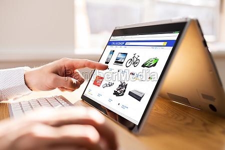online shop oder shop verkauf