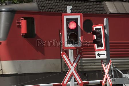 bahnübergang, im, zugverkehr - 29732854