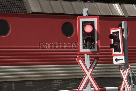 bahnübergang, im, zugverkehr - 29732856