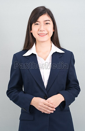 portrait, of, asian, business, woman, standing - 29741575