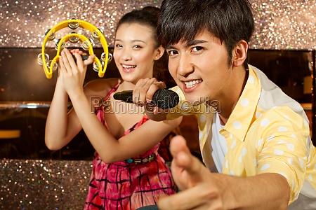 chinesische singen kara ok bei ktv