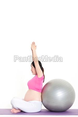 eine schwangere frau UEbung