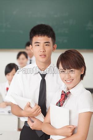 gymnasiasten lernen zeit