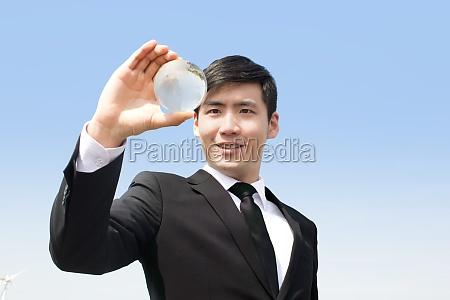 gut gekleidet ein mann asiatische asien