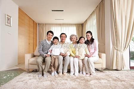 AEltere frau oriental die dritte generation