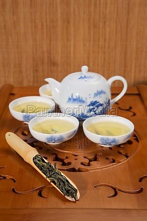 china teekanne vertikale rahmen stillleben traditionelle