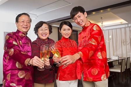 chinesische kultur neujahr 60 glueck