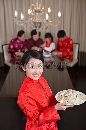 knoedel glueck mutter chinesische kultur chinesische