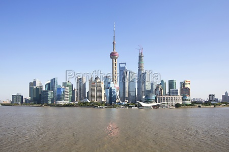 moderne oriental pearl tower jin mao
